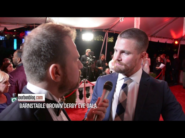 Stephen Amell, The Arrow at Barnstable Brown Derby Eve Gala 2016