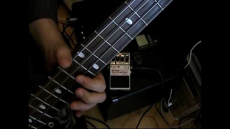 BOSS SYB-5 Bass Synthesizer Demo (with bassplaying)