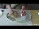 Decoupage Vintage Lazura and Cracking varnish FINO