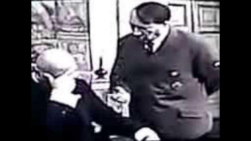Гитлер и Дуча на ингушском