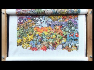 Cross stitch - Pokemon first generation