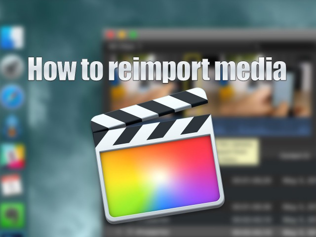 How to fix a referencing media on the camera error in Final Cut Pro X
