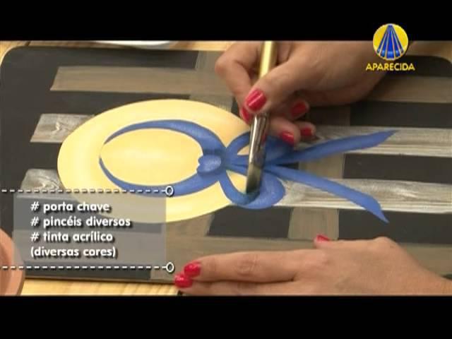 Tudo Artesanal Pintura Gestual Chapéu por Diná Rocha 14 de Maio de 2013