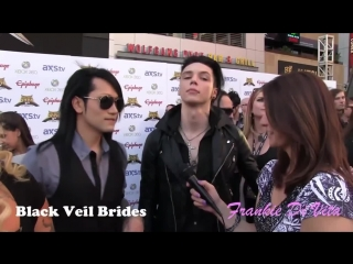 Black Veil Brides, Andy Biersack просто ах)