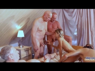 [oldje] 470 old school gangbang reloaded with gina gerson [2014 г., oldman amp young girl dp, gang bang 720p, siterip]