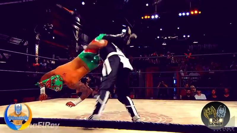 WWE-AAA Myzteziz, Rey Mysterio, Kalisto, Fenix, SinCara and Extreme Titger HD_HD Best Luchador