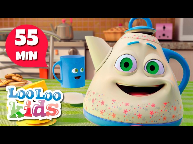 I'm a Little Teapot THE BEST Songs for Children LooLoo Kids