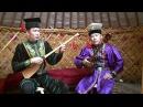 Kalmyk topshur dueling Viktor Batyrovich Okchayev and Dmitriy Sharayev