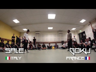 Cyph'for the Hood   SALE (Rootless / Italy) vs. GOKU (RK / France)