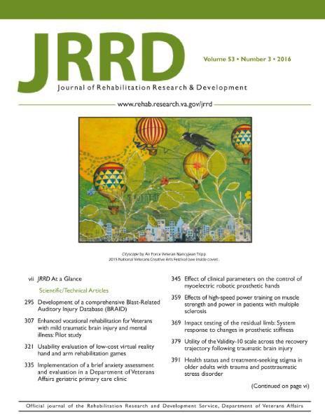 JRRD - Volume 53 Issue 3 2016