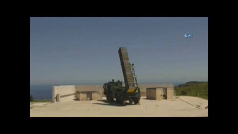 Türkiye'nin ilk uzun menzilli füzesi 'BORA' Sinop'ta test edildi