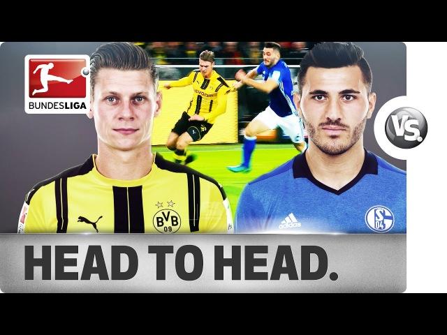 Lukasz Piszczek vs Sead Kolasinac Prolific Defenders Go Head to Head