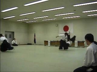 aikido igarashi dojo demonstration morita hiroshi 2th dan