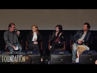 Conversations with Jessica Chastain, Anne Hathaway and Matthew McConaughey of INTERSTELLAR