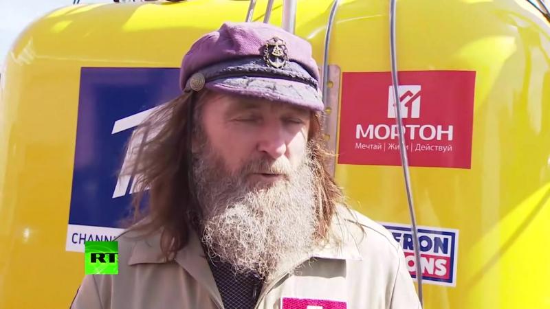 Fedor Konyukhov pokazal vozdushny shar na kotorom sovershit polet vokrug sveta