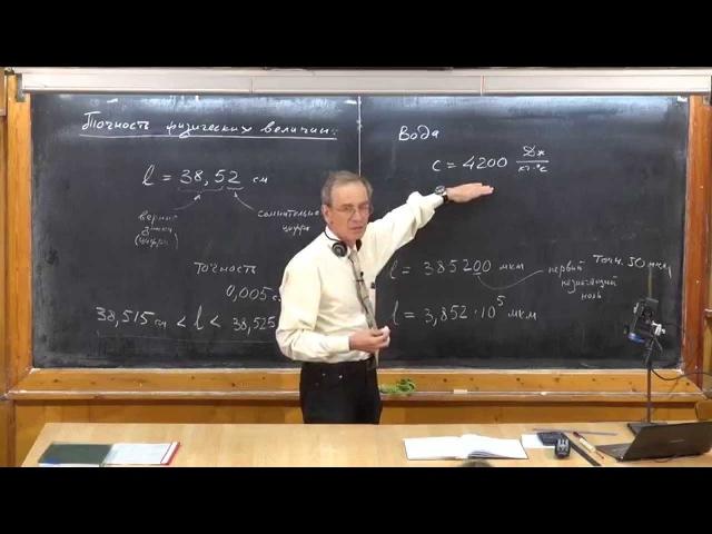 Урок 2 Точность физических величин