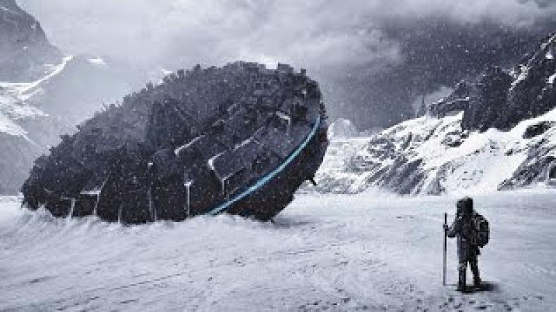 В Антарктиде обнаружены вмёрзшие в лед НЛО. Документальные фильмы 2016