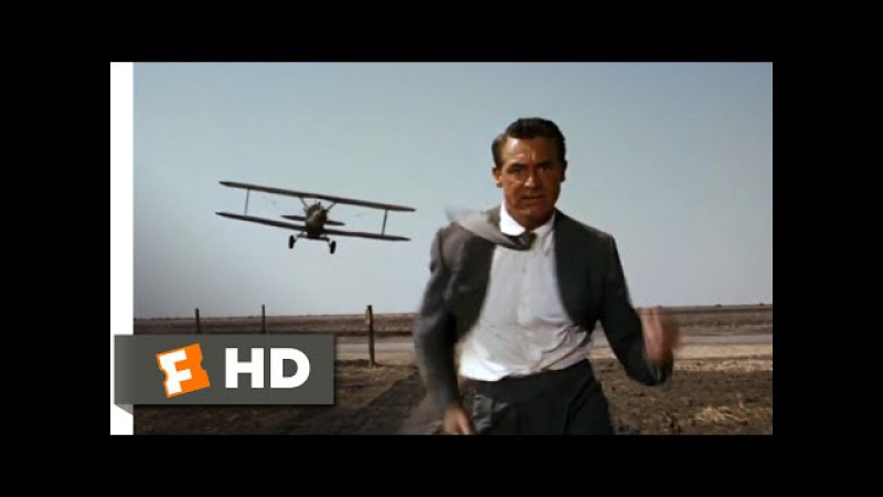 North by Northwest 1959 The Crop Duster Scene 4 10 Movieclips