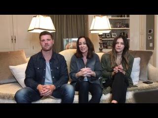 «Facebook Live» / Лайв-чат с Патрицией Хитон и Бо Уириком | 5 мая 2017