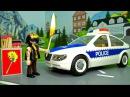 Мультики про машинки - полицейская и пожарная машина у видео Для детей - Пожар! Ра