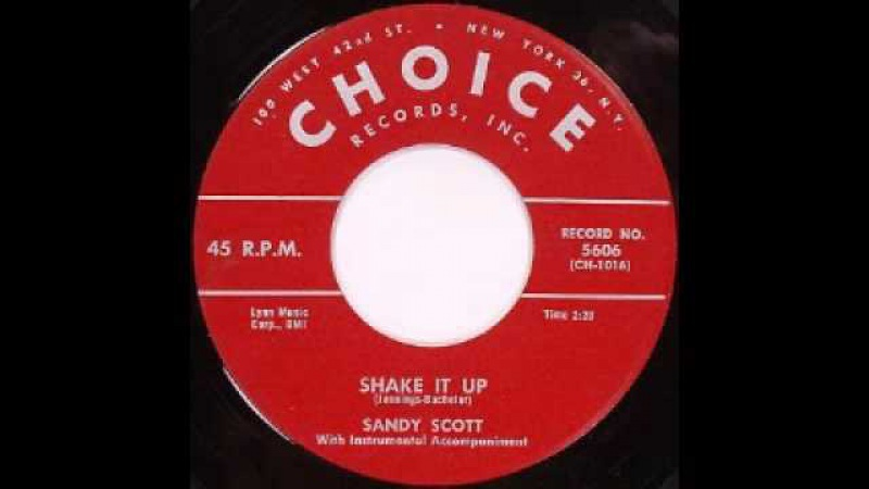 Sandy Scott - Shake It Up