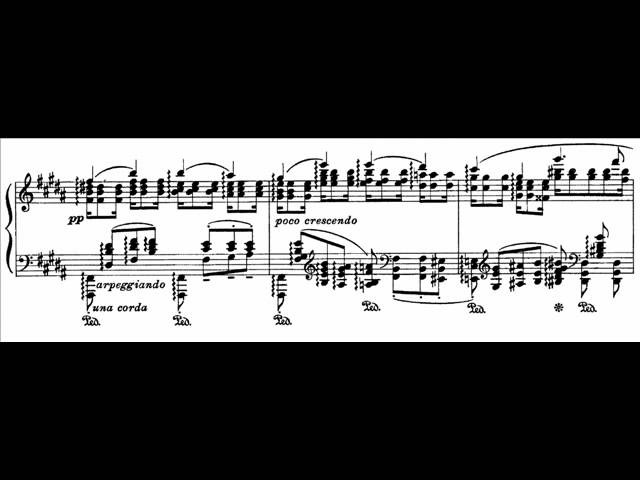 Hamelin plays Wagner Liszt Isoldes Liebestod Audio Sheet music