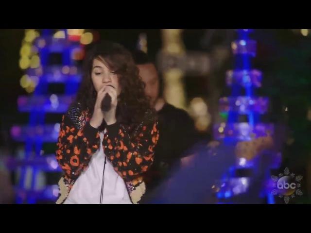 Alessia Cara sings 'How Far I'll Go' (FROM Moana) live in Disney Holiday Celebration 2016