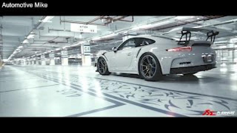 Porsche 991 GT3 RS w Fi exhaust