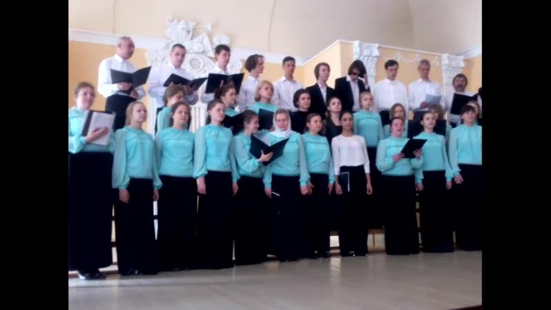 Отчётный концерт хоровиков 2016
