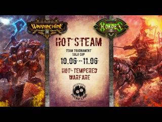 Интервью Чемпион и Клим Warmachine & Hordes: Hot steam Saint-Petersburg