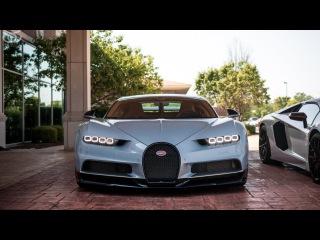Insane Bugatti Chiron Test Drive! (Crazy Sound!)