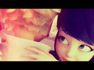 【AMV】Miraculous LadyBug ( Marinette and Adrien ) ♥