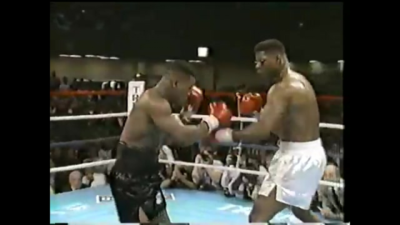 Mike Tyson VS Tyrell Biggs 1987-10-16