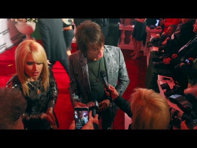 Richie Sambora and Orianthi rock the Barnstable red carpet