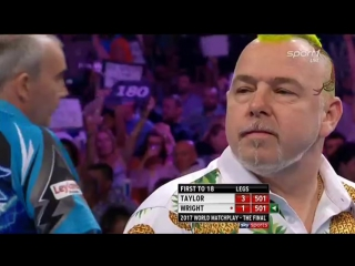 Phil Taylor vs Peter Wright (PDC World Matchplay 2017 / Final)