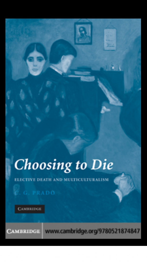 Choosing to die elective death and multi culturism