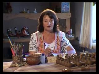 Ремесло 30- Роспись каргопольской игрушки