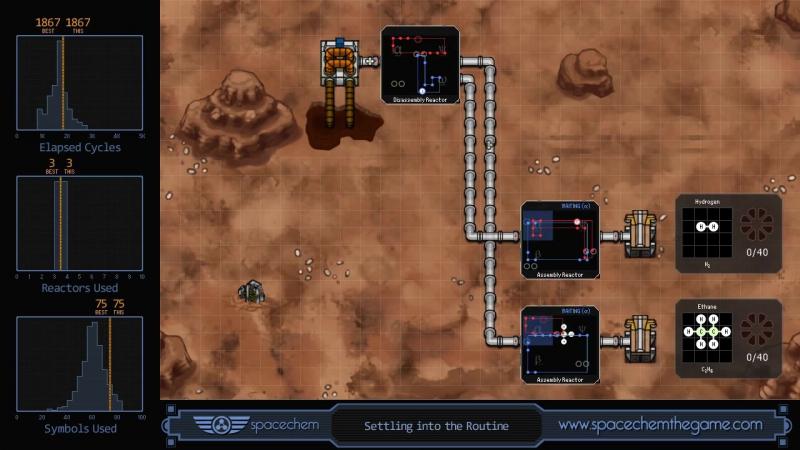 SpaceChem Methane Breaking Facility