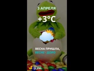 3 апреля погода
