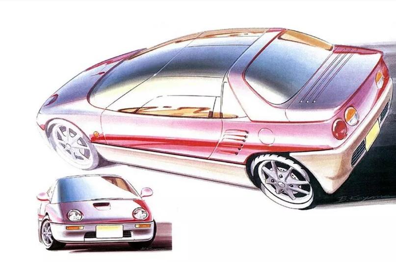 700 килограммов ярости редкого спорткара Autozam AZ-1, который и Suzuki, и Mazda., изображение №5