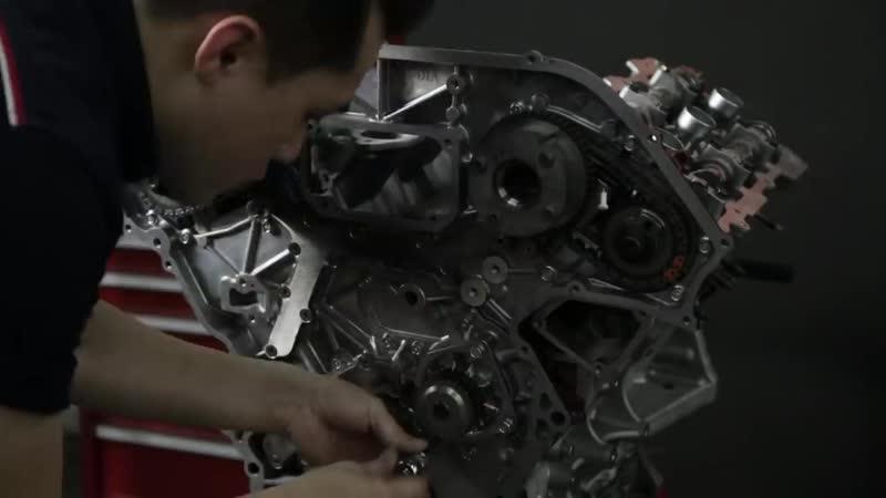 Nissan GT R R35 Engine Restoration by Hanz autoworks 720p