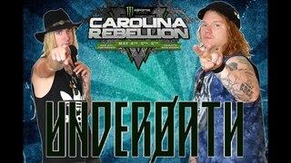 Interview With Spencer Chamberlain & Aaron Gillespie of Underoath  ( Carolina Rebellion 2018)