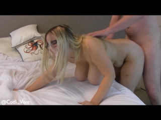Codi Vore -  Big Tits Bounce On Huge Cock Creampie 1080p