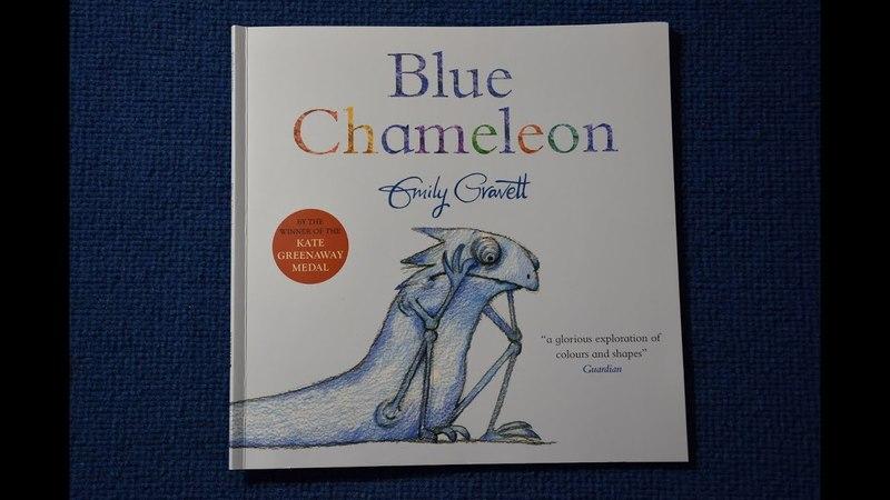 Blue Chameleon Emily Gravett