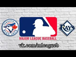 Toronto Blue Jays vs Tampa Bay Rays      AL   MLB 2018 (3/3)