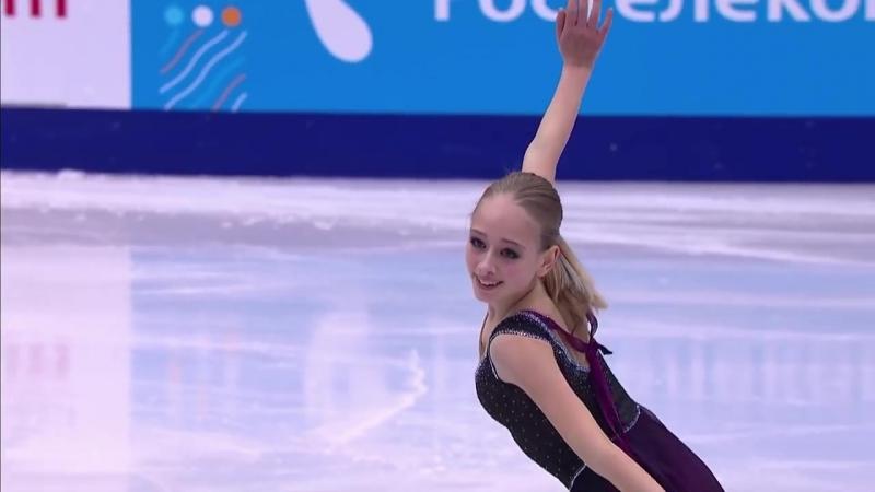 2017 Russian Nationals Alisa Lozko FS ESPN