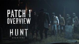 Developer Update   Hunt: Showdown Patch 1 - Overview