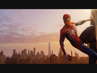 Ps4蜘蛛侠主菜单无字动态背景 marvel's spider-man main menu animated background without the title