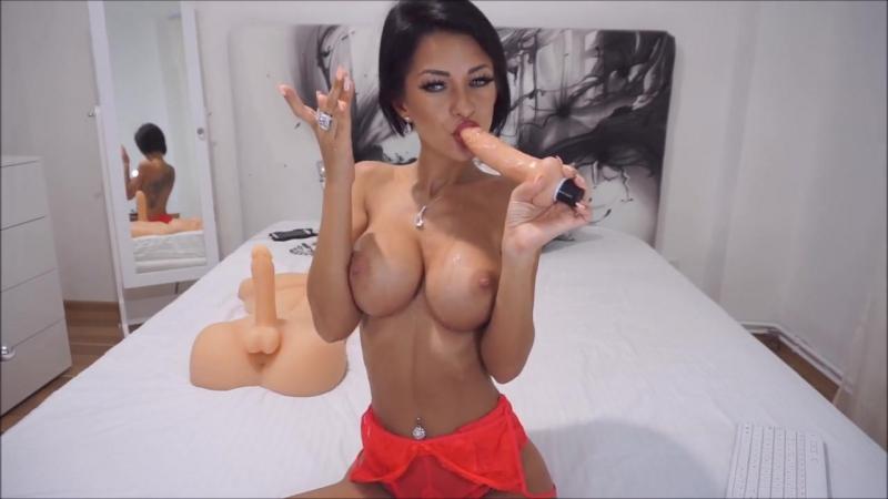 Anisyia Livejasmin NEW verry sloppy gaging throat fuck lots of spit HD 4 K (вебка, порно, секс,