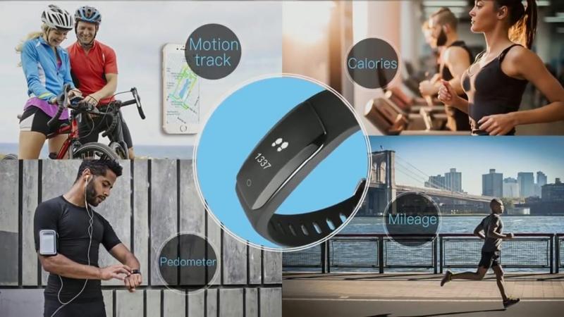 MPOW D6 Smart Bracelet USB Plug for Android Phones